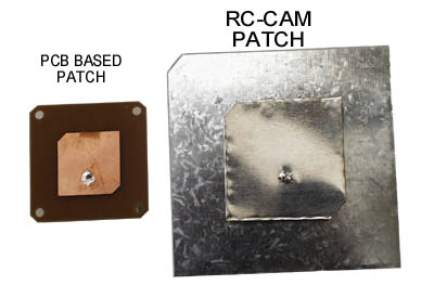 Two 2.4Ghz Patch's: PCB versus Air Dielectric