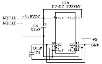 Schematic of DC-DC Supply