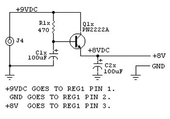 VOLTAGE REG SCHEMATIC