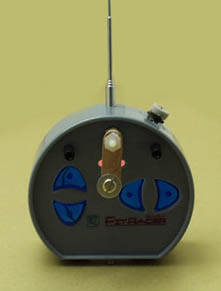 The proportional encoder mounts inside the Tx